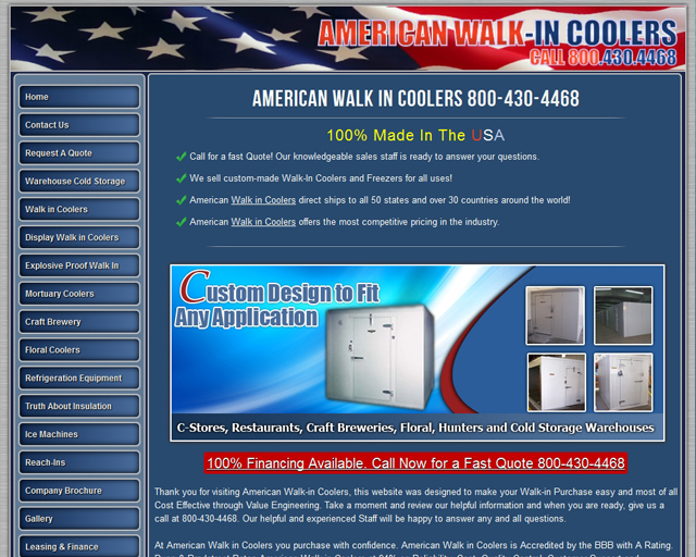 American Walkin Coolers